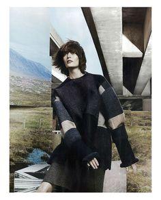 Sam Rollinson, Amanda Murphy & Maria Loks by Craig McDean for Vogue UK September 2013 | The Fashionography