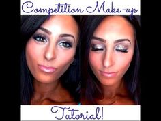 Competition Make Up Tutorial (from a non-makeup artist) - YouTube