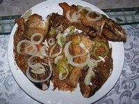 Jamaica Culture and Heritage---escovietched fish Jamaican Dishes, Jamaican Recipes, Caribbean Food, Caribbean Recipes, Jamacian Food, Jamaica Culture, Island Food, Fish Recipes, Dinner Ideas