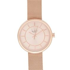 Principles by Ben de Lisi Ladies' rose gold mesh strap watch | Debenhams