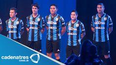 ¿Te lo perdiste? Gallos Blancos del Querétaro develan su nuevo uniforme para el Torneo Apertura 2014