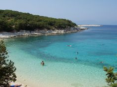 Emblissi Beach (Fiskardo, Kefalonia, Greece) <3