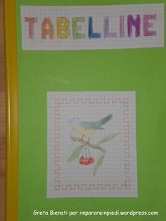quaderno tabelline 1