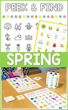A fun activity for Tot School, Preschool, Kindergarten and beyond. 4 Year Old Activities, Gross Motor Activities, Spring Activities, Preschool Activities, Preschool Kindergarten, Tot School, School Fun, School Days, Early Learning