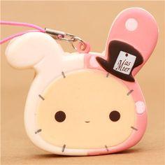 kawaii Sentimental Circus rabbit squishy cellphone charm