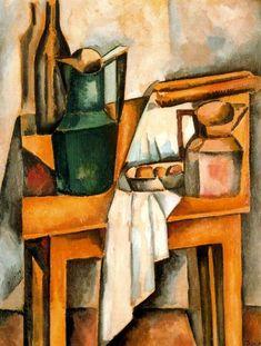 Bodegón, 1910 - André Derain. Cubismo