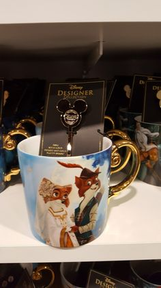 Designer Disney Collection Is A Fashionable Collection You Won't Want to Miss! I get criticized from time to time regarding my use of the word fashion. It seems many people assume fashion is purely something that can be worn. All Disney Movies, Disney Souvenirs, Disney Gift, Disney Coffee Mugs, Disney Cups, Disney Home, Disney College, Cute Mugs, Disney Merchandise