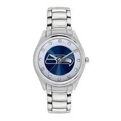 Ladies Seattle Seahawks Bracelet Watch