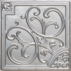 Affordable faux-tin ceiling tiles provide an elegant look at an affordable price. Get these quality faux-tin tiles for less at Decorative Ceiling Tiles. Plastic Ceiling Tiles, Faux Tin Ceiling Tiles, Tin Tiles, Ceiling Ideas, Ceiling Decor, Mosaic Tiles, Wall Tiles, Drop Ceiling Panels, Ceiling Medallions