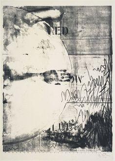 Jasper Johns: Hatteras (lithograph, 1963).