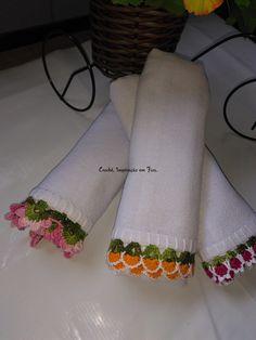 Crochet Home, Diy And Crafts, Napkins, Towel, Blanket, Mini, Decor, Crochet Leaf Patterns, Crochet Fruit