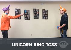 Unicorn Ring Toss - Fun Ninja Youth Group Games