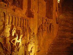 Wieliczka - Salt Mine - Poland.  Unesco site.  SolA Salt Cave and Spa, Asheville, NC.  www.solasaltcave.com