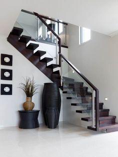 top modern design home interior floor stairs 32 Home Stairs Design, Duplex House Design, Interior Stairs, Home Room Design, Small House Design, Dream Home Design, Modern House Design, Home Interior Design, Interior Decorating