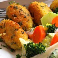 Recept : Jáhlové krokety | ReceptyOnLine.cz - kuchařka, recepty a inspirace Paleo, Food And Drink, Meat, Chicken, Cooking, Healthy, Bulgur, Cuisine, Kitchen
