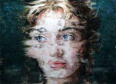 Striking Oil Portraits by Harding Meyer   Inspiration Grid   Design Inspiration