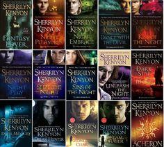 The Dark-Hunter Series by Sherrilyn Kenyon sweetrobin
