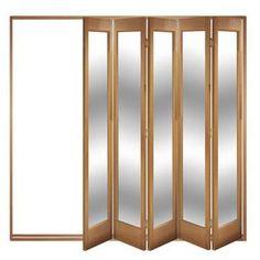 Image of Folding & Sliding Doors, IFS-5FMAR (Open Left or Right) Marston 5 Door Set, Frame & Glass