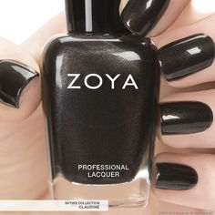 First Look: Zoya Nail Polish in Claudine - Fall 2013 Edition