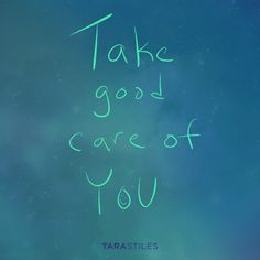 Sharespiration #8 – Take good care of YOU