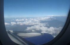 Hinflug - Sicht auf den Himalaya, eine der gefährlichsten Flugstrecken der Welt