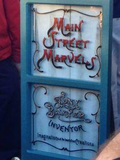 November 1, 2013. Tony Baxter, an imagineer at Disney who designed Big Thunder Mountain, got a window on Main Street USA in Disneyland. #deepcor #disney #waltdisney #disneyland #mainstreetUSA #imagineer #tonybaxter #disneynews #bigthundermountain #mainstreetmarvels
