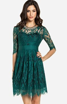 Such a pretty dress and perfect to wear to a wedding or semi-formal event.
