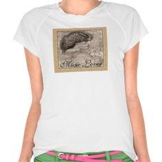 """""""Contemplation"""" Woman & Sheet Music T-Shirt"""