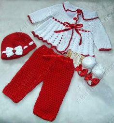 Como tejer Vestido para niñas en gancho o a crochet fácil y rápido 9 ... fdb009c3f6e7