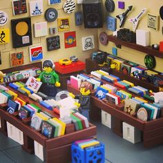 Incredible record shop. Wish the ninja shop looked like this!