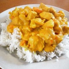 Korma, Macaroni And Cheese, Buffet, Food And Drink, Isagenix, Yummy Food, Meat, Chicken, Baking
