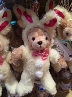 Disneyland Hong Kong Duffy The Disney Bear and Shellie May Easter Merchandise.