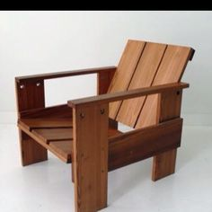 Crate chair- Gerrit Rietveld