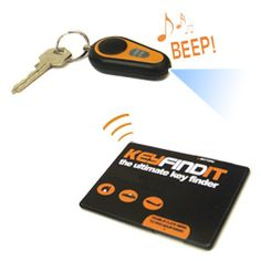 Find keys at the push of a button with the Ultimate Key Finder!