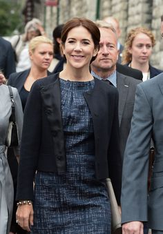 Prince Frederik and Princess Mary continued their official visit to Canada, in Toronto.