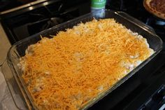 Sprinkle remaining cheese on top.