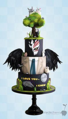 Mash-up Theme Cake by Little Cherry