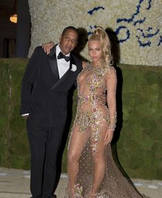 Jay Z and Beyoncé in Givenchy