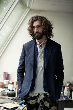 Style Vestimentaire Homme Cheveux Long 63 Ideas For 2019 Boho Fashion, Fashion Outfits, Fashion Tips, Fashion Trends, Man Fashion, Trendy Fashion, Fashion Music, Ankara Fashion, Africa Fashion