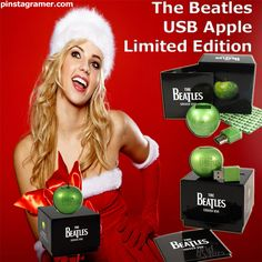 The Beatles USB Apple Limited Edition Christmas Gift Ideas 2012 #Christmas #Christmasgift #holidays2012 #pinspiration