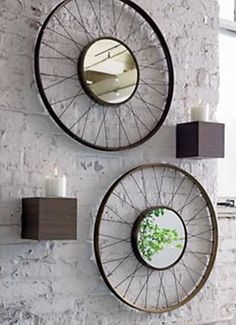 DIY Ways to Recycle Bike Rims Ideas & Instructions: Re-purpose Bike Wheels and Rims into Home and Garden Decoration, Wreath, Garden Art, Trellis, Chandelier Bicycle Decor, Bicycle Rims, Bicycle Wheel, Bicycle Art, Entry Furniture, Diy Furniture, Furniture Dolly, Recycled Bike Parts, Bike Craft