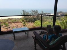 Beautiful Beach Houses, Outdoor Tables, Outdoor Decor, India Travel, Chai, Cousins, Balcony, Rooms, Outdoor Furniture