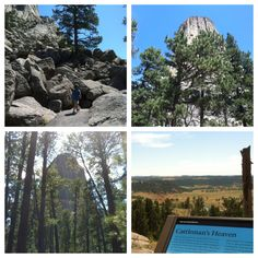 Going for a walk around the tower...Devils Tower - Hulett, WY