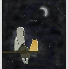 İslamic anime ve Gucci Wallpaper, Cartoon Wallpaper, Anime Love Couple, Couple Cartoon, Galaxy Drawings, Cute Love Wallpapers, Hijab Drawing, Islamic Cartoon, Hijab Cartoon
