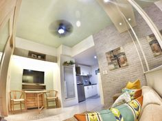 What Else Michelle Condo Interior Design, Condo Design, Furniture Design, House Design, Studio Condo, Studio Apartment, Condominium Interior, Condo Living, Living Room