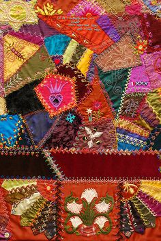 Crazy Quilt by Robyne Melia is Bobby La, via Flickr