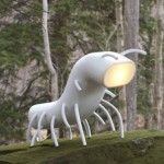 Great collection of cool lamps designs. Great collection of cool lamps designs. - Creative - Check out: Cool Lamps on Barnorama Cute Furniture, Furniture Design, Unusual Furniture, Furniture Ideas, Outdoor Furniture, Corner Lamp, Bright Homes, Beautiful Bugs, Unique Lamps