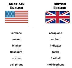 🇺🇸vs🇬🇧 British English, American English, Usa, U.s. States