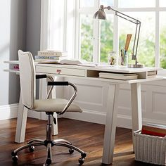 """Customize-It Storage Desk #pbteen $500 58"""" wide x 23.5"""" deep x 31"""" high - would need drawer unit"""