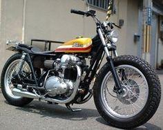 #Kawasaki #w650 #bratstyle